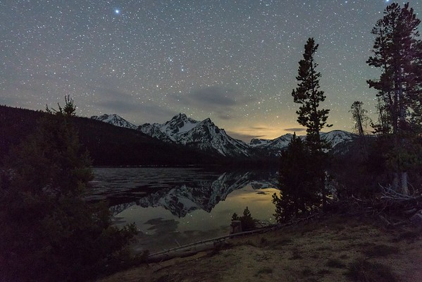 Stanley Lake Reflection