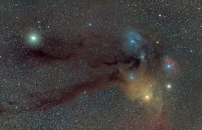 Rho Ophiuchi / Scorpius Nebulosity