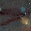 Rho Ophiuchi / Scorpius Nebulosity (and Saturn)