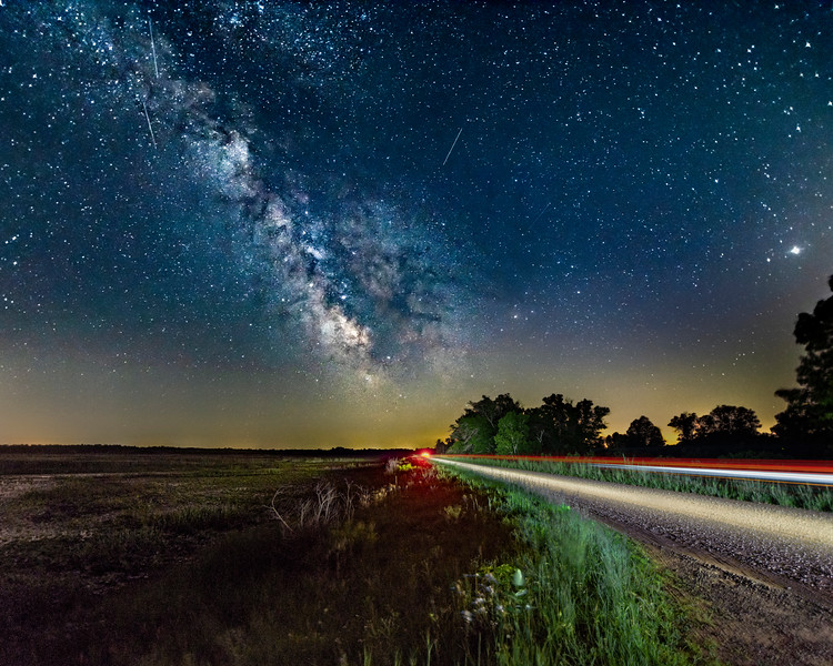 Driving Towards the Milky Way