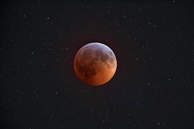 Total Lunar Eclipse, 2019-Jan-21