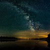 Milky Way over the Minong Flowage