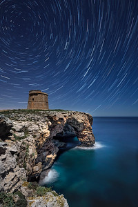 Alcaufar Tower. English defense towers in menorca