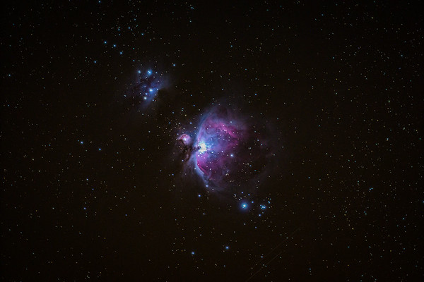 My first successful single shot of the Orion Nebula! 1344 light years from Earth! I'm working on a couple other images of this! Its so unbelievably amazing to take photos of stuff you cant see with your naked eye! Hope you enjoy!