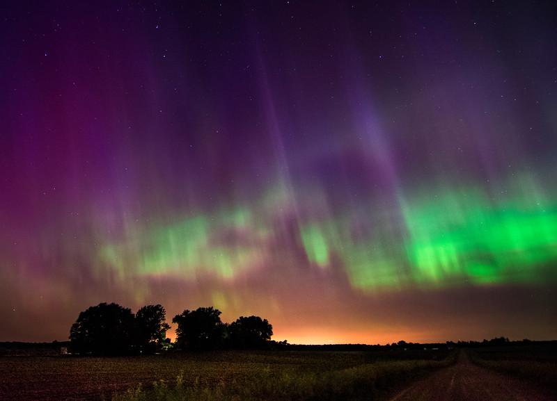 Aurora Borealis June 22-23, 2015