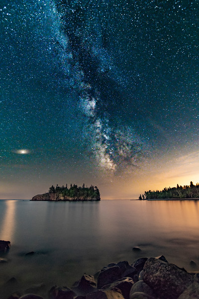 Milky Way Over Ellingson Island