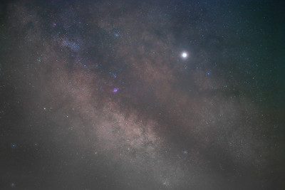 Milky Way Galactic Center