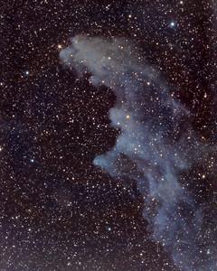 Witch Head Nebula (IC2118) in Eridanus