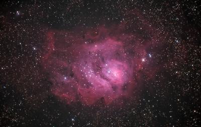 Lagoon Nebula (M8) in Sagittarius