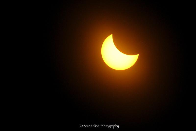 2017 solar eclipse, Bonner County, ID.