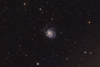Pinwheel Galaxy, M101 (NGC5457) in Ursa Major