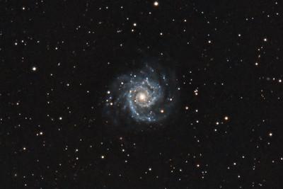 The Phantom Galaxy (M74) in Pisces.