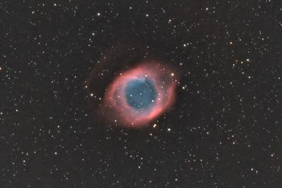 Helix Nebula (NGC 7293) in Aquarius