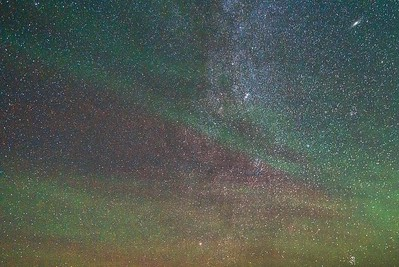 Andromeda & Airglow