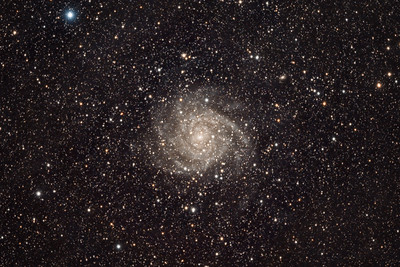 IC 342, Spiral Galaxy in Camelopardalis