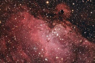 Eagle Nebula (M16) in Serpens (cropped)