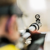 "Junior Mats Eriksson competes in the small bore event during the Nanooks' meet against the Citidel Jan. 20 in the E.F. Horton Rifle Range on the Fairbanks campus.  <div class=""ss-paypal-button"">Filename: ATH-14-4042-49.jpg</div><div class=""ss-paypal-button-end"" style=""""></div>"