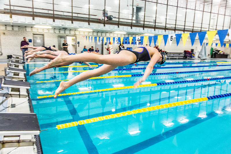 "Swimmers leave the blocks at the start of the 200-yard freestyle relay during the Nanooks' meet against Loyola Marymount in the Patty Pool.  <div class=""ss-paypal-button"">Filename: ATH-13-3991-211.jpg</div><div class=""ss-paypal-button-end"" style=""""></div>"