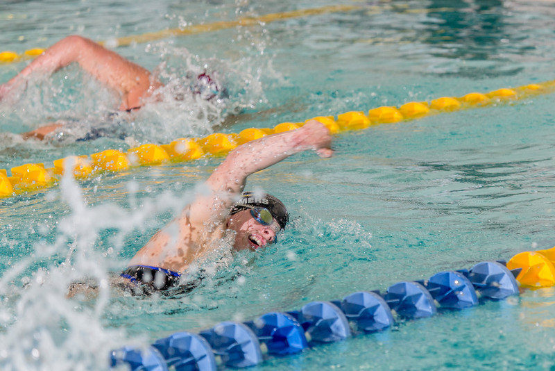 """Junior Gabi Summers competes in the 200-yard freestyle event during the Nanooks' meet against Loyola Marymount in the Patty Pool.  <div class=""""ss-paypal-button"""">Filename: ATH-13-3991-98.jpg</div><div class=""""ss-paypal-button-end"""" style=""""""""></div>"""