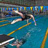 """Freshman Bente Heller dives in to start her anchor leg in leading the Nanooks to another win in the 200-yard freestyle relay during their dual meet against Colorado Mesa in the Patty pool.  <div class=""""ss-paypal-button"""">Filename: ATH-12-3267-186.jpg</div><div class=""""ss-paypal-button-end"""" style=""""""""></div>"""