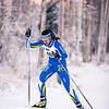 "UAF skiier Ann-Cathrin Uhl sprints up the last hill of the women's 6.5km ski race during day one of the Nordic Cup at Birch Hill on Nov. 19, 2016.  <div class=""ss-paypal-button"">Filename: ATH-16-5069-23.jpg</div><div class=""ss-paypal-button-end""></div>"