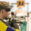 "Junior Ryan Anderson pauses between shots while competing in the small bore event during the Nanooks' meet against the Citidel Jan. 20 in the E.F. Horton Rifle Range on the Fairbanks campus.  <div class=""ss-paypal-button"">Filename: ATH-14-4042-14.jpg</div><div class=""ss-paypal-button-end"" style=""""></div>"