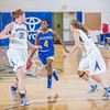 """Sophomore Benissa Bulaya pushes the ball up the court during second half action in the Nanooks' game against the Colorado School of Mines in the Patty Center.  <div class=""""ss-paypal-button"""">Filename: ATH-12-3639-85.jpg</div><div class=""""ss-paypal-button-end"""" style=""""""""></div>"""