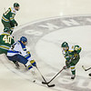 """Alaska Nanooks Mens Hockey Team and the SeaWolves face off at the Carlson Center.  <div class=""""ss-paypal-button"""">Filename: ATH-14-4118-44.jpg</div><div class=""""ss-paypal-button-end""""></div>"""