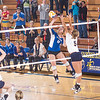 "Freshman Megan Morrison skies for a kill during the Nanooks match against Montana State-Billings in the Patty Center.  <div class=""ss-paypal-button"">Filename: ATH-12-3638-153.jpg</div><div class=""ss-paypal-button-end"" style=""""></div>"