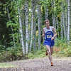"Freshman runner John Klein pushes forward Thursday, August 30, 2012 at the 8kmen's race with Seattle Pacific and Black Hills State University. Klein finished 19th overall with a time of  28:44.2 minutes.  <div class=""ss-paypal-button"">Filename: ATH-12-3530-66.jpg</div><div class=""ss-paypal-button-end"" style=""""></div>"