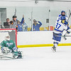 "Seniors Colton Beck, 36, and Cody Kunyk, 37, react after Kunyk scored the winning goal late in the final period in the Nanooks 5-4 win over the visiting Mercyhurst Lakers in the Patty Ice Arena.  <div class=""ss-paypal-button"">Filename: ATH-13-3982-198.jpg</div><div class=""ss-paypal-button-end"" style=""""></div>"