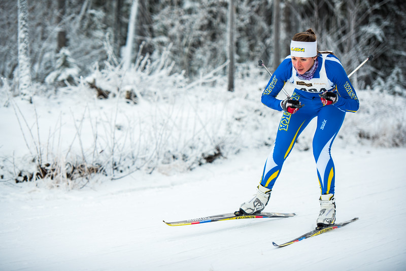 """Sarissa Lammeers tucks down a hill during day one of the Nordic Cup at Birch Hill on Nov. 19, 2016.  <div class=""""ss-paypal-button"""">Filename: ATH-16-5069-20.jpg</div><div class=""""ss-paypal-button-end""""></div>"""