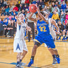 """Junior April Fultz drives toward the hoop during second half action in the Nanooks' game against the Colorado School of Mines in the Patty Center.  <div class=""""ss-paypal-button"""">Filename: ATH-12-3639-94.jpg</div><div class=""""ss-paypal-button-end"""" style=""""""""></div>"""