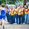 "UAF cheerleaders encourage the runners during a cross country Thursday, August 30, 2012 on the UAF West Ridge ski trails.  <div class=""ss-paypal-button"">Filename: ATH-12-3530-91.jpg</div><div class=""ss-paypal-button-end"" style=""""></div>"