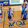 "Freshman Megan Morrison leads the cheer after scoring a point in the Nanooks' win over Simon Fraser in the Patty Center.  <div class=""ss-paypal-button"">Filename: ATH-12-3581-49.jpg</div><div class=""ss-paypal-button-end"" style=""""></div>"