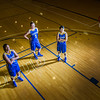 "Seniors Teanna Boxley, left, and Taylor Altenburg, center, join junior Marissa Atoruk on the Patty Center court.  <div class=""ss-paypal-button"">Filename: ATH-12-3625-019.jpg</div><div class=""ss-paypal-button-end"" style=""""></div>"
