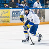 "Senior Jarret Granberg skates with the puck toward the net during the Nanooks' 2-1 win over North Dakota in the Carlson Center.  <div class=""ss-paypal-button"">Filename: ATH-12-3601-36.jpg</div><div class=""ss-paypal-button-end"" style=""""></div>"