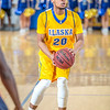 """Junior point guard Joe Slocum sets up to shoot a three-pointer during the Nanooks' 83-72 win over Fresno Pacific in the championship game of the GCI Alaska Invitational tournament.  <div class=""""ss-paypal-button"""">Filename: ATH-13-4005-60.jpg</div><div class=""""ss-paypal-button-end"""" style=""""""""></div>"""