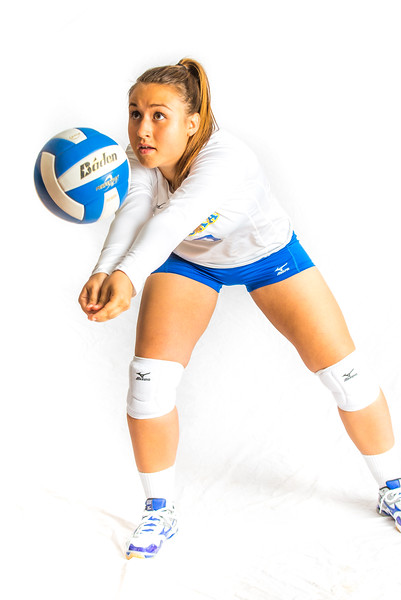 """Samantha Hesterman, a defensive specialist from Ormiston, Saskatchawan, finished her Nanook career in 2015.  <div class=""""ss-paypal-button"""">Filename: ATH-15-4615-039.jpg</div><div class=""""ss-paypal-button-end""""></div>"""