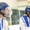 "Sophomore Josh Atkinson enjoys the pre-game introductions before the Nanooks' game against the Mercyhurst Lakers in the Patty Ice Arena.  <div class=""ss-paypal-button"">Filename: ATH-13-3982-9.jpg</div><div class=""ss-paypal-button-end"" style=""""></div>"
