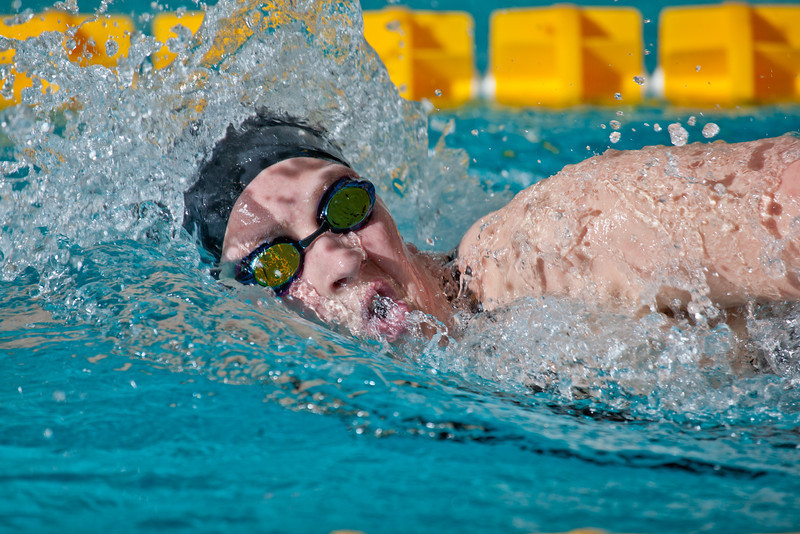"""Sophomore Ashley Crowe won the 1000-yard freestyle event for the Nanooks during their dual meet against Colorado Mesa in the Patty pool.  <div class=""""ss-paypal-button"""">Filename: ATH-12-3267-035.jpg</div><div class=""""ss-paypal-button-end"""" style=""""""""></div>"""