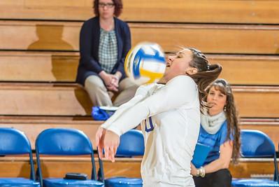 Sophomore Samantha Hesterman returns a shot against Central Washington.  Filename: ATH-13-3980-116.jpg