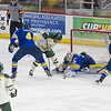 "UAF Men's Hockey Team spars with UAA Seawolves on the first match of the Alaska Airlines Governor's Cup at the Sullivan Arena in Anchorage.  <div class=""ss-paypal-button"">Filename: ATH-13-4018-79.jpg</div><div class=""ss-paypal-button-end"" style=""""></div>"