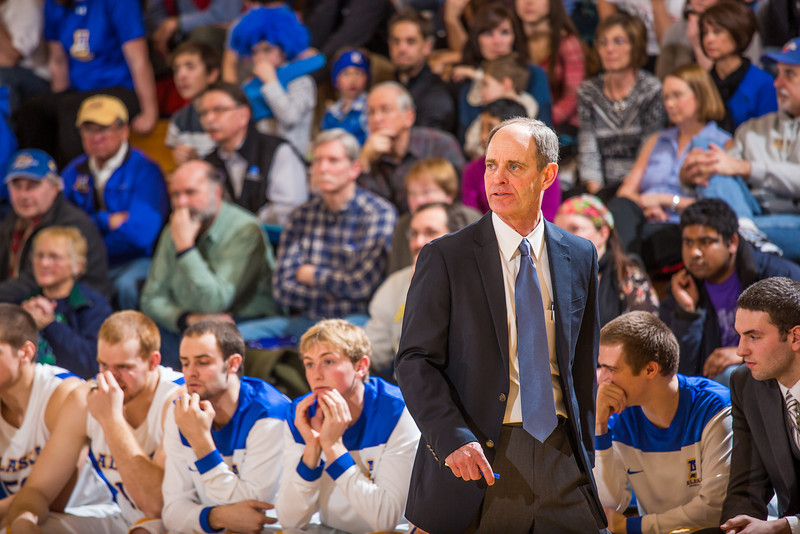 """Nanooks head coach Mick Durham paces the sideline during the Nanooks game against the UAA Seawolves in the Patty Center.  <div class=""""ss-paypal-button"""">Filename: ATH-13-3700-184.jpg</div><div class=""""ss-paypal-button-end"""" style=""""""""></div>"""