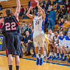 "Junior guard Pat Voeut puts up a shot from beyond the three-point line during the second half of the Nanooks' 81-58 win over Saint Martin's Jan. 10 in the Patty Center.  <div class=""ss-paypal-button"">Filename: ATH-13-3695-28.jpg</div><div class=""ss-paypal-button-end"" style=""""></div>"
