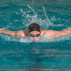 "Junior Nina Mullin competes in one of the preliminary 50 meter butterfly events during the Nanooks' dual meet against Loyola Marymount Jan. 30 in the Patty Pool.  <div class=""ss-paypal-button"">Filename: ATH-15-4442-14.jpg</div><div class=""ss-paypal-button-end""></div>"