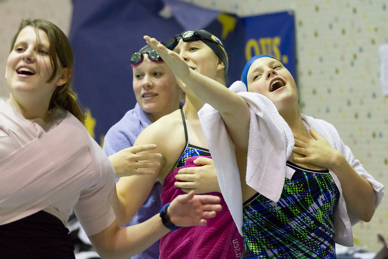 """Nanook swimmers take part in a friendly but fierce competition during the 2012 Blue and Gold Swim Meet Saturday, Oct. 13 at the Patty Center.  <div class=""""ss-paypal-button"""">Filename: ATH-12-3588-13.jpg</div><div class=""""ss-paypal-button-end"""" style=""""""""></div>"""