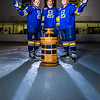 "Colton Beck, left, Michael Quinn, center, and Cody Kunyk return as seniors to lead the Nanooks in 2013 as the team makes its initial foray into the tough WCHA (Western Collegiate Hockey Association).  <div class=""ss-paypal-button"">Filename: ATH-13-3818-6.jpg</div><div class=""ss-paypal-button-end"" style=""""></div>"