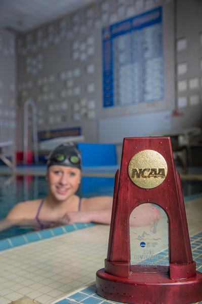 """UAF's Bente Heller claimed the first national championship in the program's history, claiming the title in the women's 100 meter backstroke at the NCAA Div II championships in Birmingham, AL.  <div class=""""ss-paypal-button"""">Filename: ATH-13-3758-52.jpg</div><div class=""""ss-paypal-button-end"""" style=""""""""></div>"""