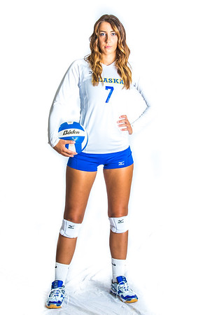 Riley Podowicz is a middle blocker on the Nanooks from Olympia, Washington.  Filename: ATH-15-4615-131.jpg